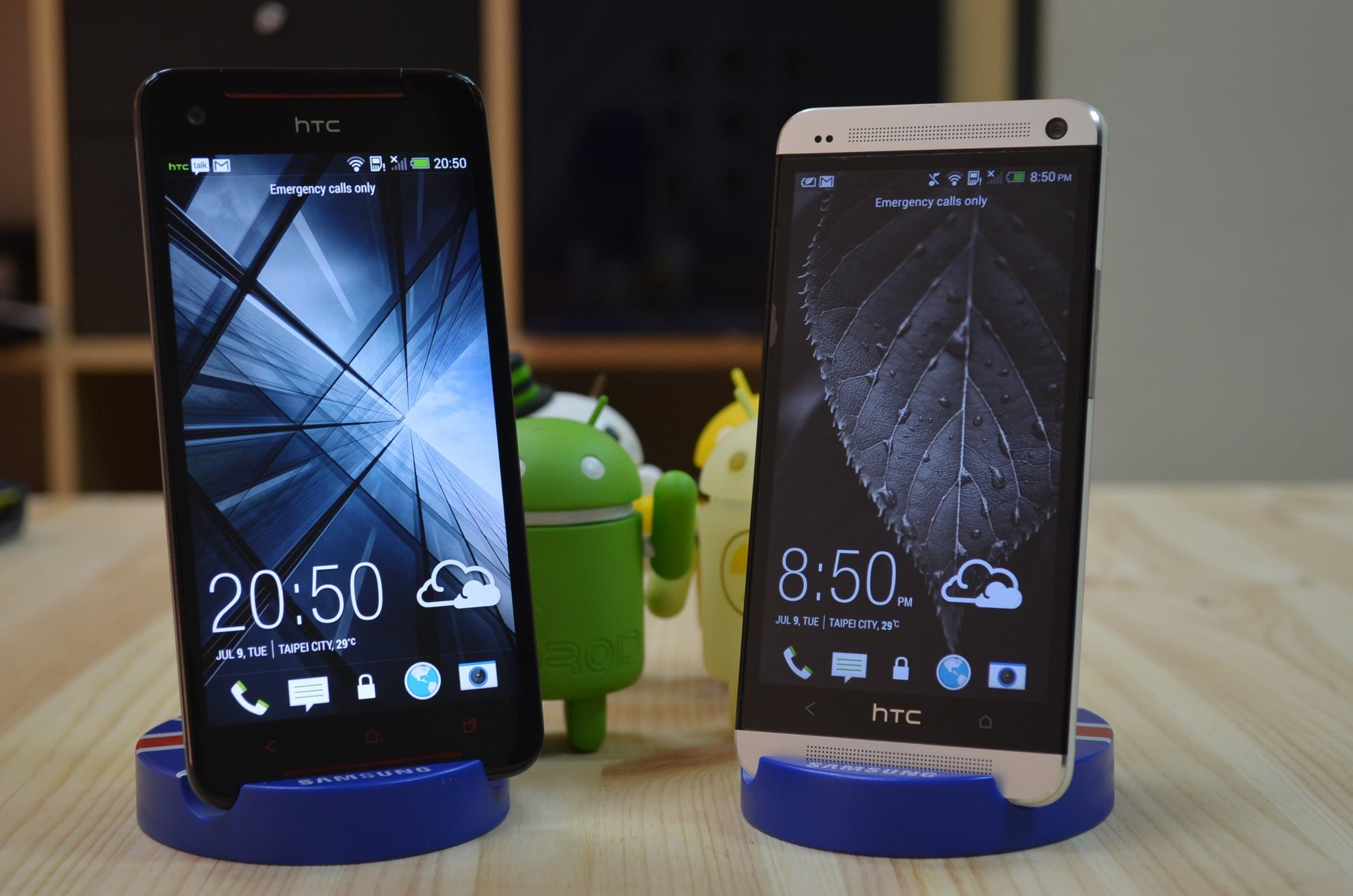 HTC Butterfly S vs HTC One