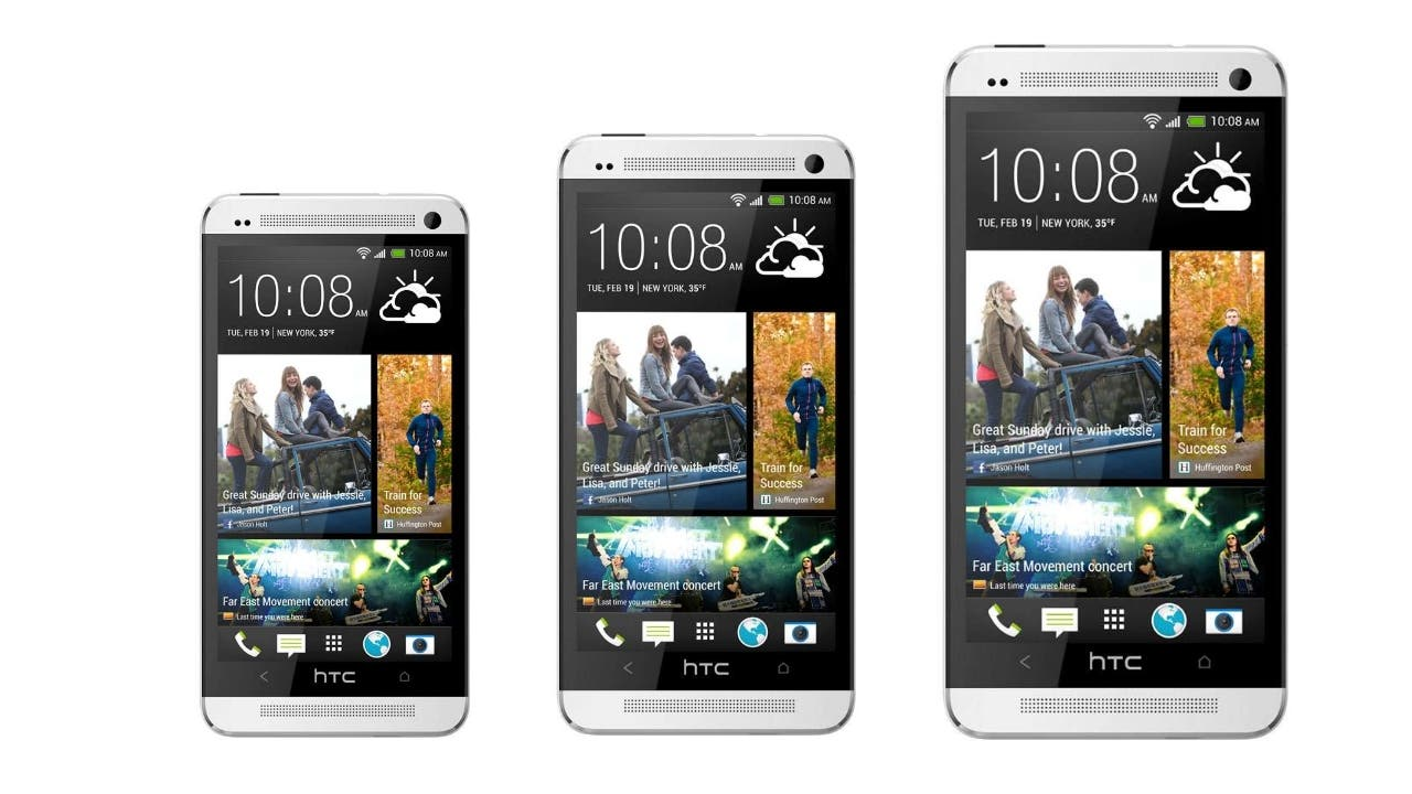 HTC One Mini - HTC One Max