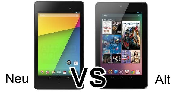 Nexus 7 new vs old