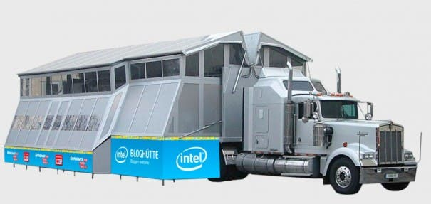 Techlounge Intel Bloghuette