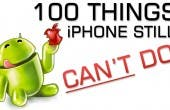 100 Things iPhone still can t do