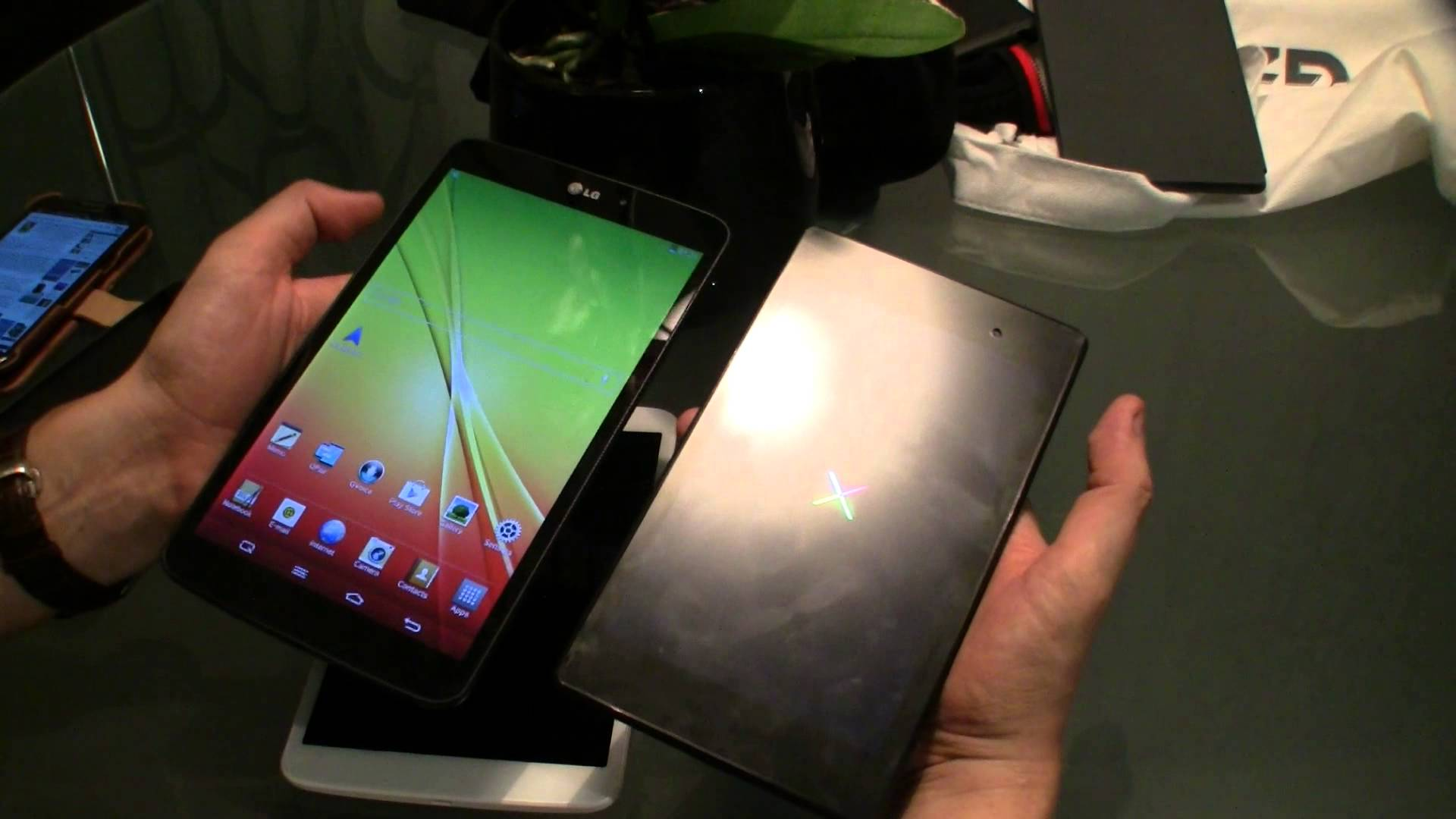 LG G Pad vs Nexus 7 vs iPad mini