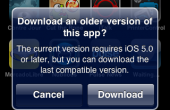 iOS Download older Build
