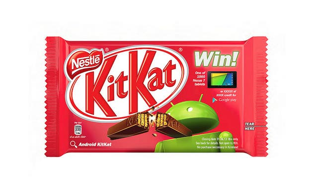Android 4.4 Kitkat: Nestlé macht sich in Video über Apple lustig *Update*