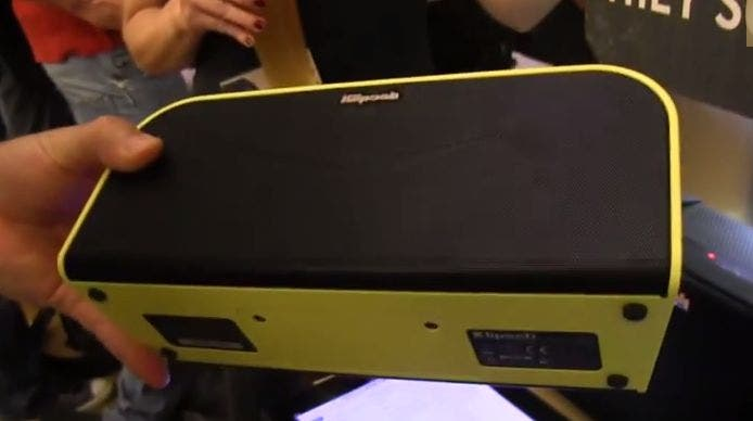 IFA: Klipsch – KMC 1 Bluetooth Speaker mit NFC im Hands-on [Video]