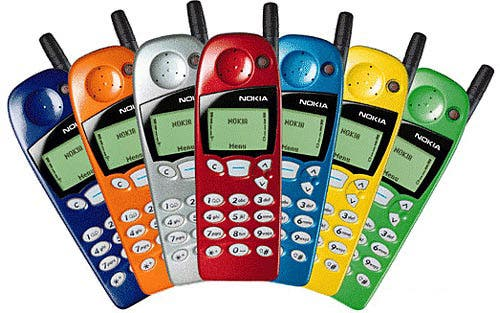 nokia 5110 colors