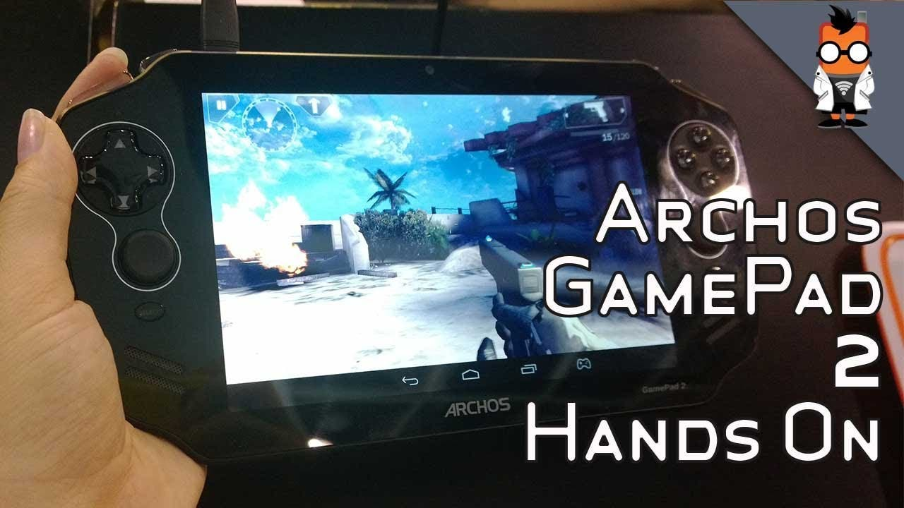 Archos GamePad 2 Hands-on