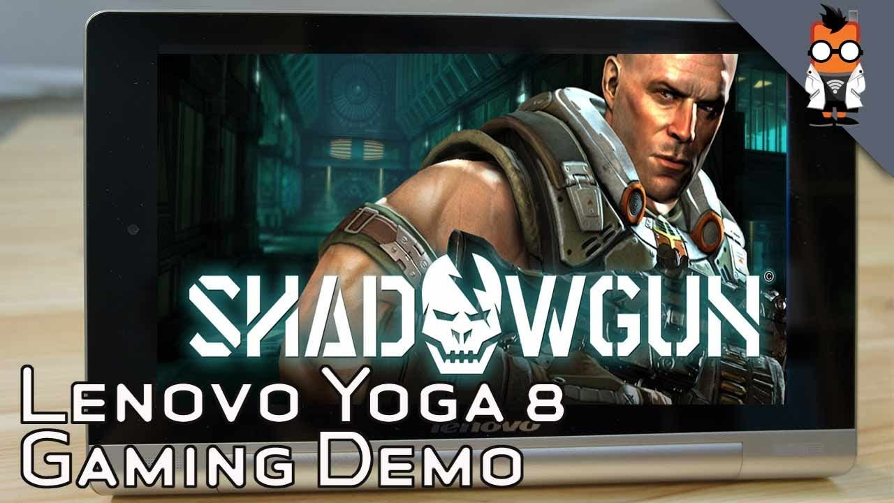 Game Demo Lenovo Yoga Tablet 8