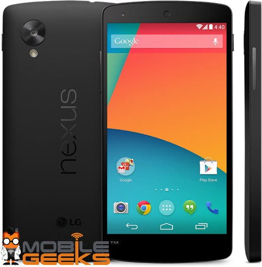 Google Nexus 5 Play Store 3