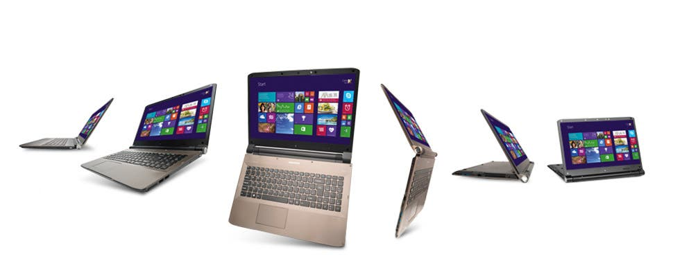 Ab 24. Oktober bei Aldi: Medion The Touch 300 Notebook mit Windows 8.1 für 499 Euro