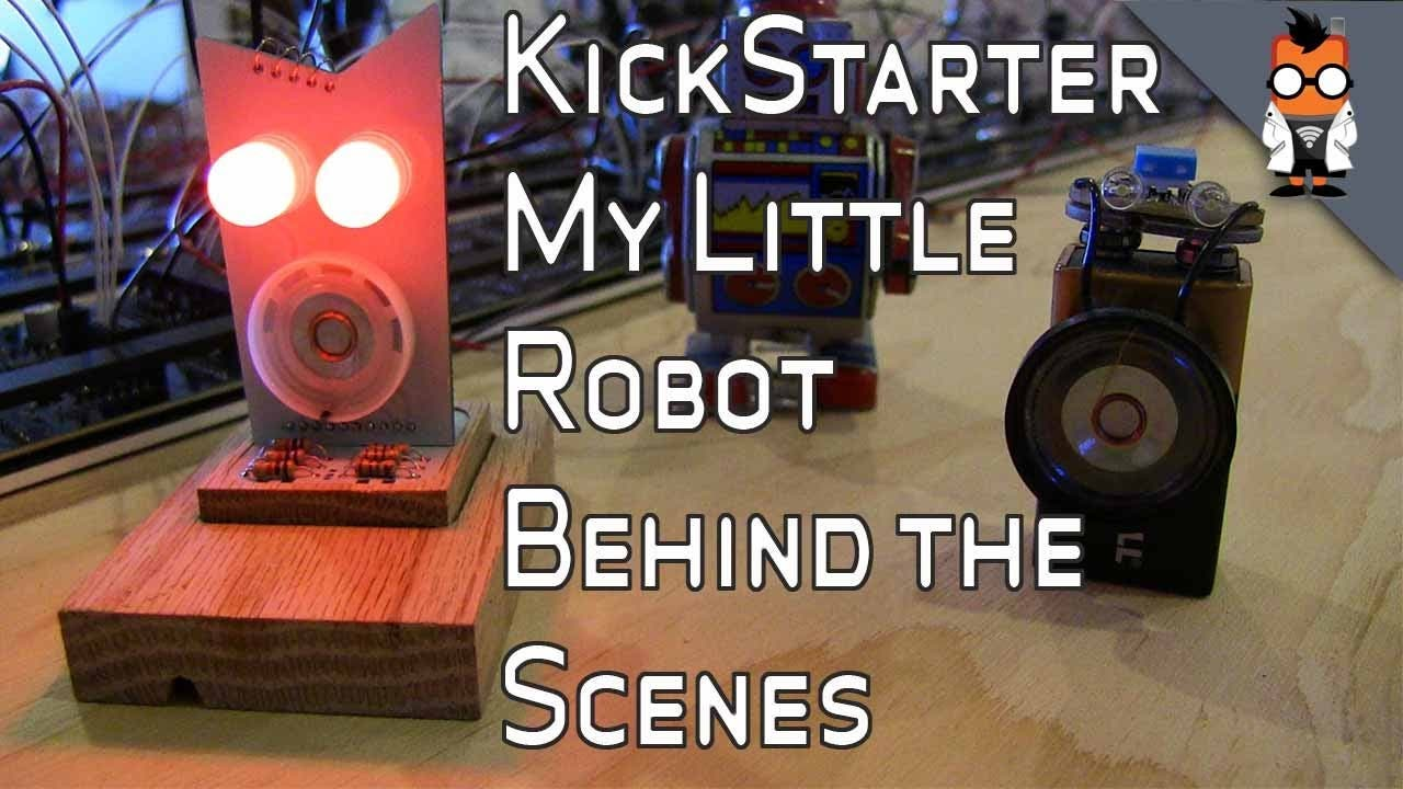Little Robot Friends: Blick hinter die Kulissen des Kickstarter-Projekts [Video]