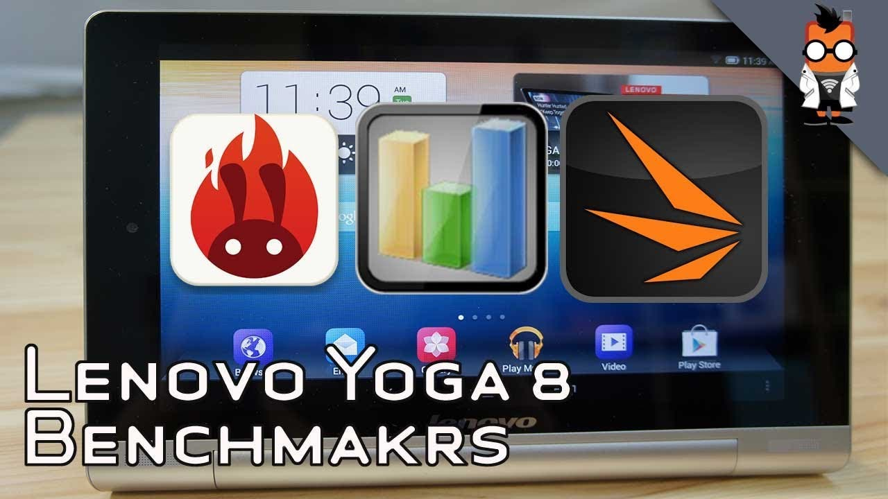 [Video] Lenovo Yoga Tablet 8 im Benchmark-Test