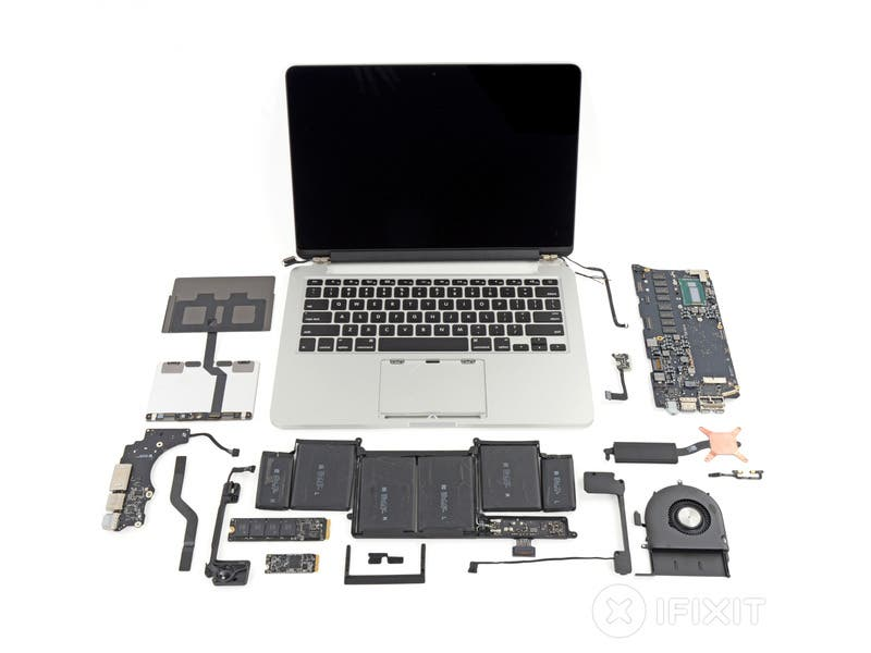 macbook pro 13 teardown