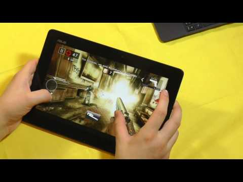 ASUS Transformer Pad TF701- Tegra 4-Tablet Gaming Test