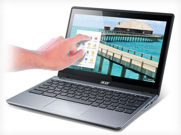 CES 2014: Acer C720P Chromebook mit Touch-Display im Hands-on