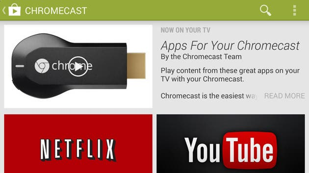 google-play-chromecast-section