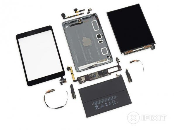 ipad mini mit retina-display teardown
