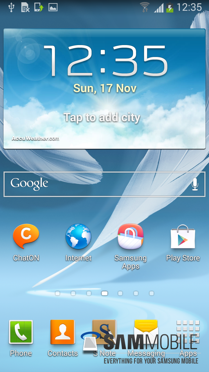 samsung galaxy note 2 android 43 1