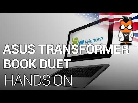 CES 2014: ASUS Transformer Book Duet – Dual Boot Android Windows 2 in 1 im Hands-On-Video