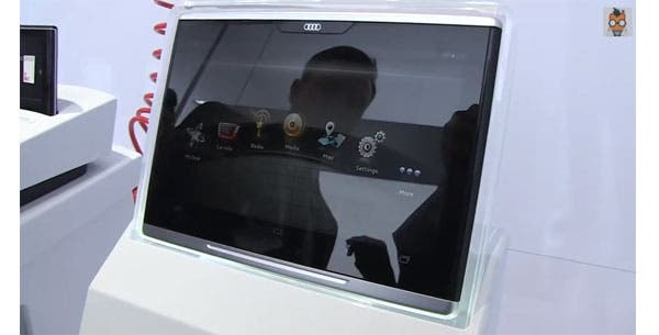 CES 2014: Audi Smart Display – 10.1-inch Android-Tablet im Hands-on