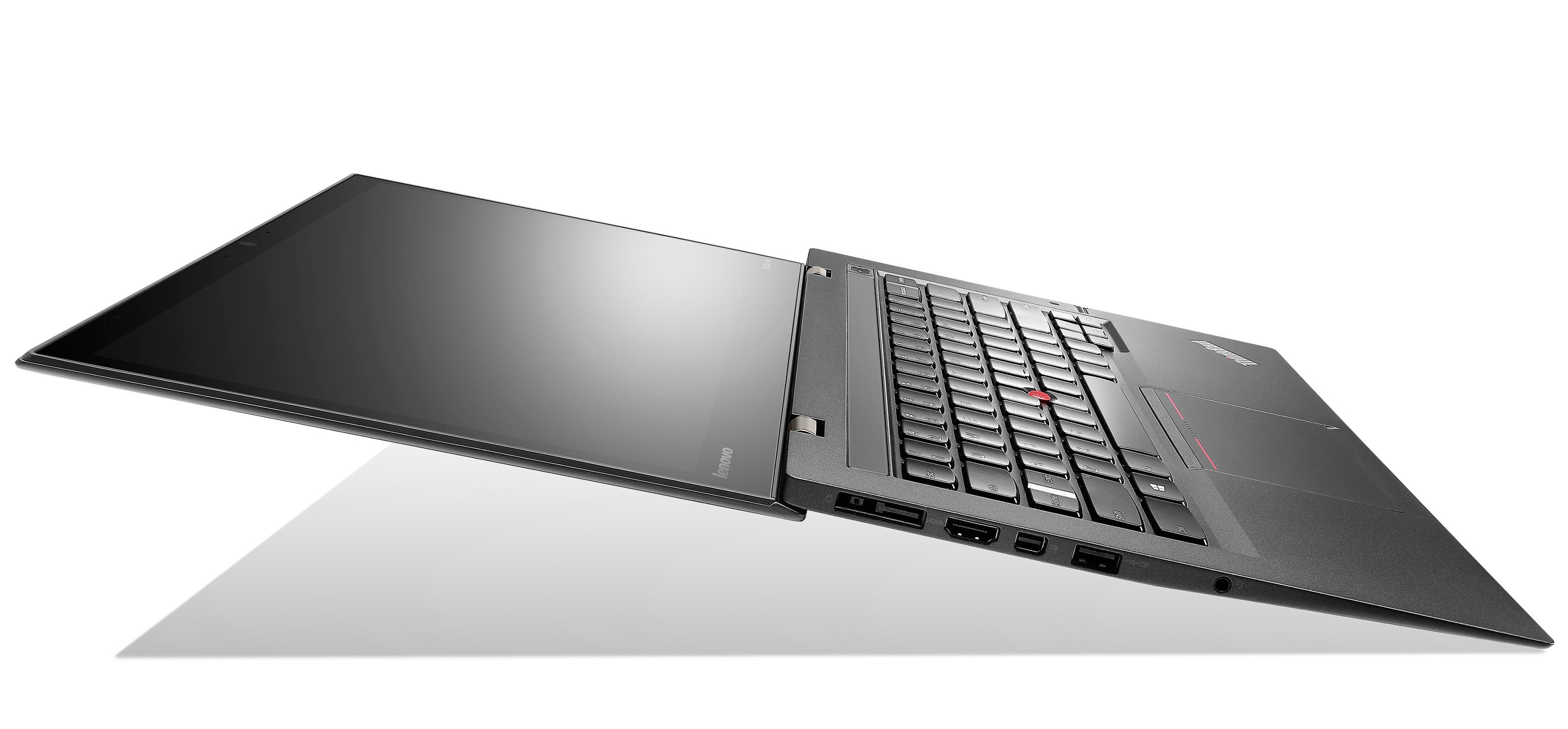 Lenovo New X1 Carbon Touch_Side open