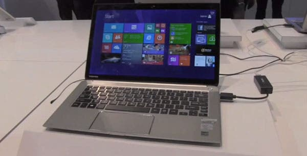 CES 2014: Toshiba KIRAbook Intel Haswell Ultrabook im Hands-on