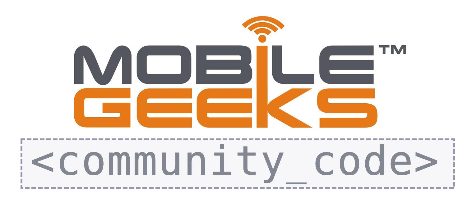 MobileGeeks Communy Code