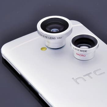 htc one lenses