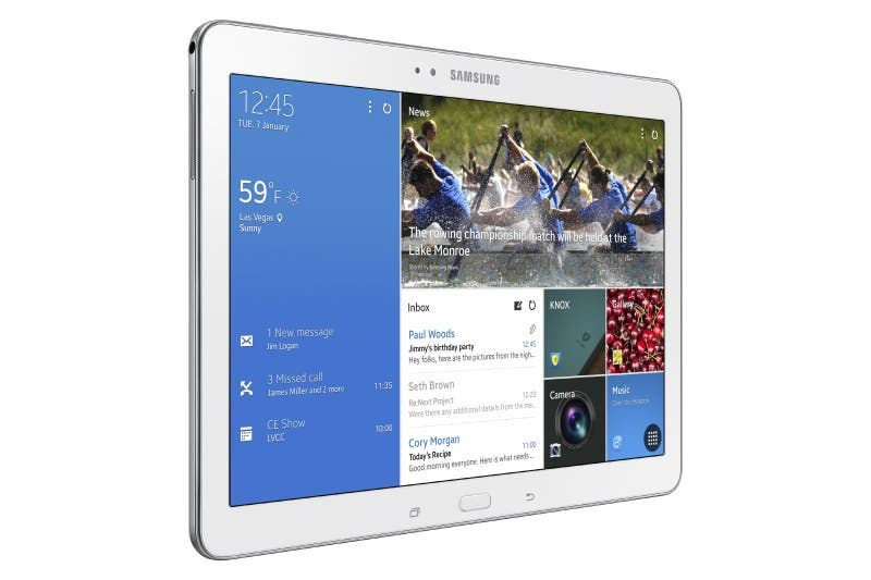 CES 2014: Samsung Galaxy Tab Pro 10.1 – High-End-Tablet so leicht wie das iPad Air – Specs & Fotos