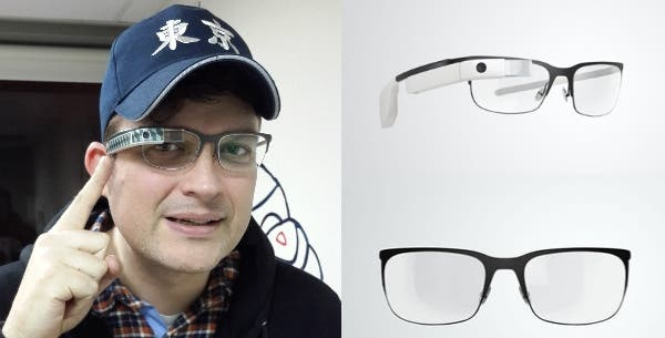Google Glass Split Frame