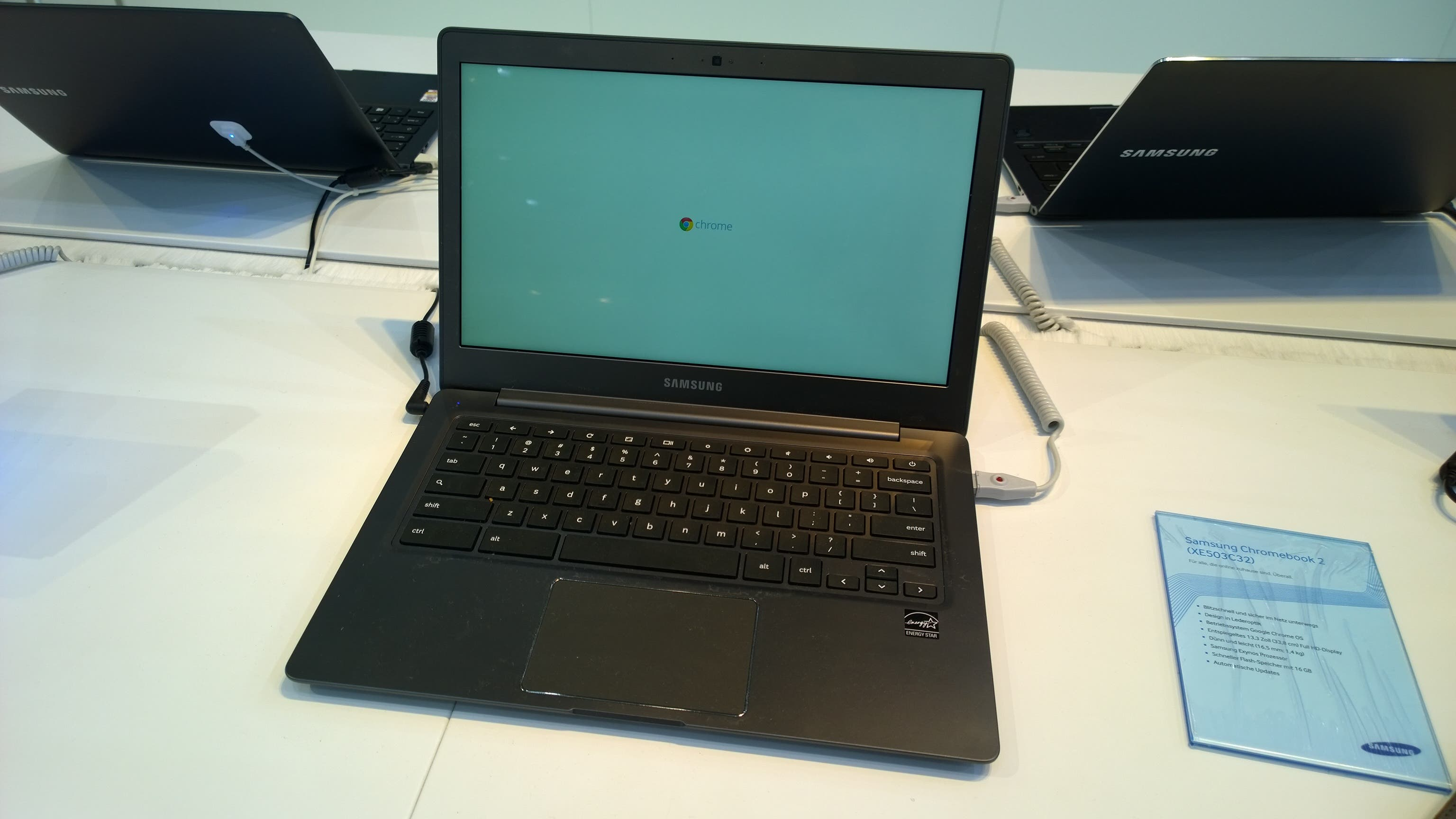 CeBIT 2014 – Samsung Chromebook 2 13.3-inch im Hands On [Video]