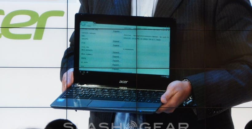 Acer kündigt Chromebook mit Intel Core i3 an