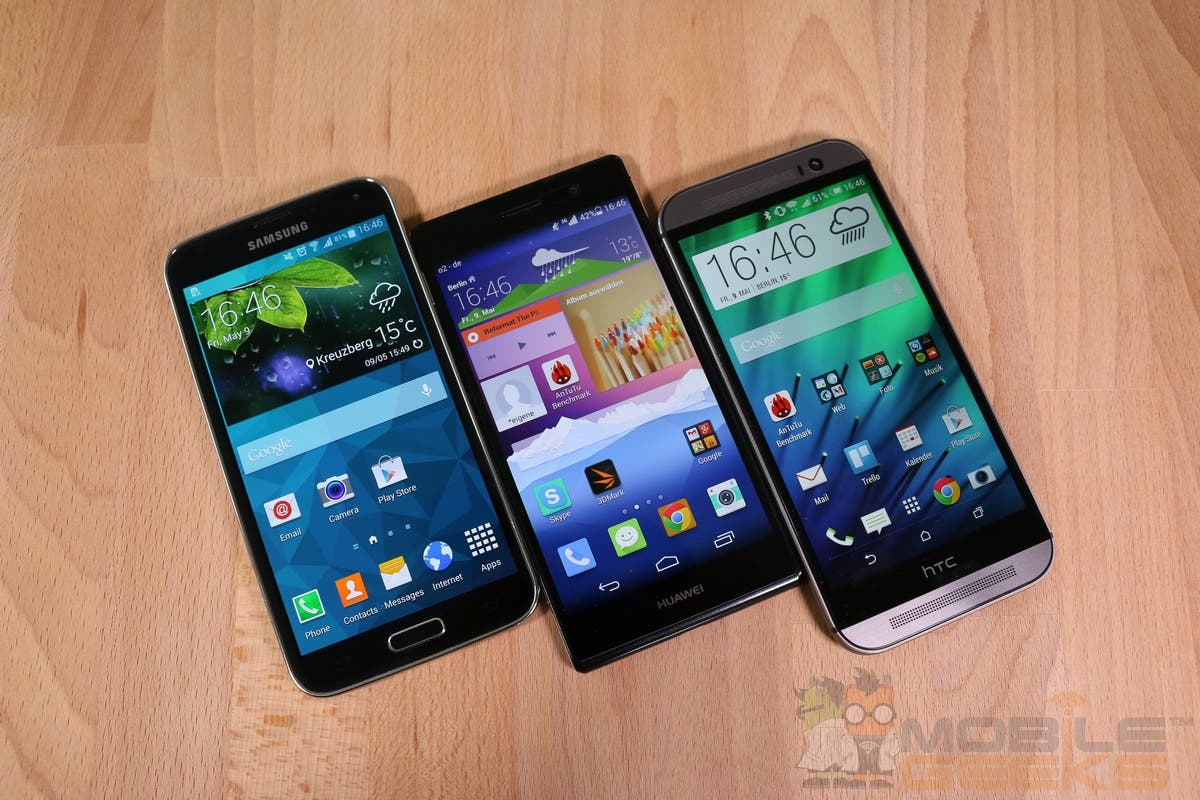 Huawei Ascend P7 vs HTC One M8 and Samsung Galaxy S5 0008