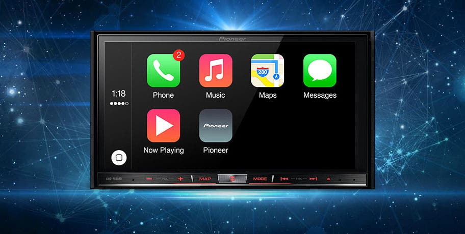 Pioneer-Apple-CarPlay