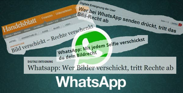 Whatsapp-Bildrechte