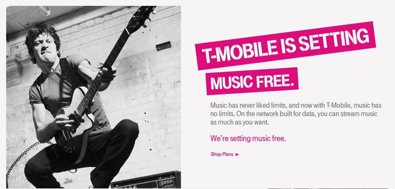 T-Mobile USA Music-Streaming