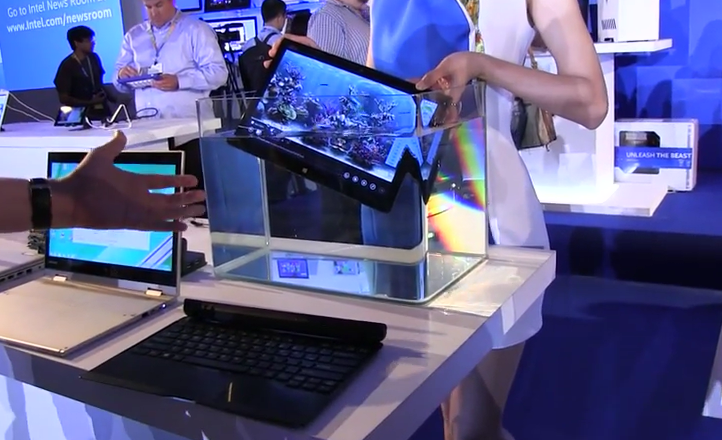 Computex 2014: Fujitsu zeigt wasserfestes 2-in-1-Notebook [Video]