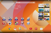 Medion LifeTab S10334 Homescreen 1