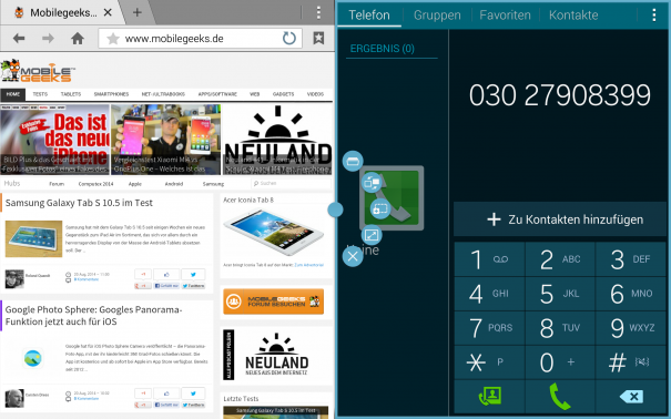 Samsung Galaxy Tab S 10.5 Interface 5