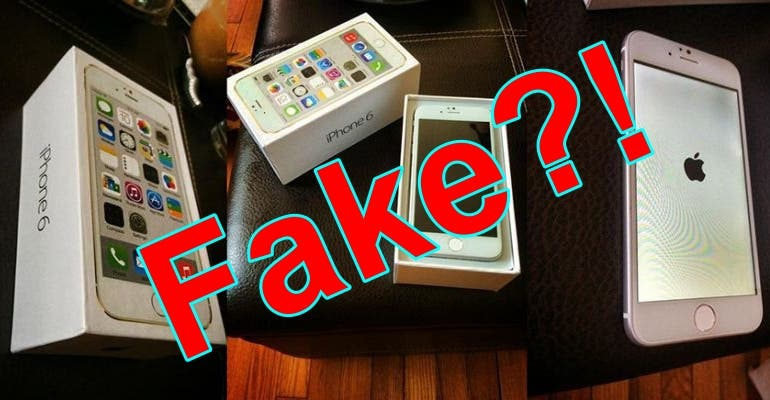 iPhone 6 Fake