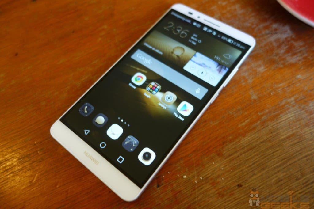 Huawei Ascend Mate 7 Frontansicht