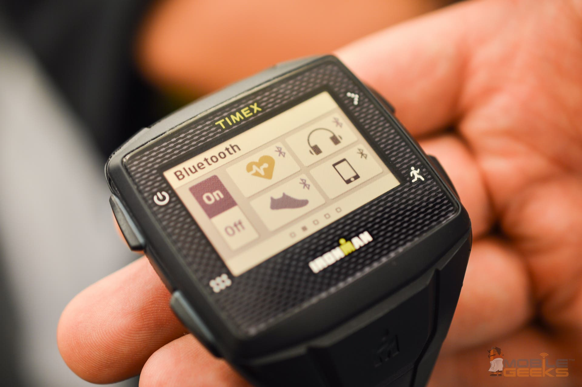 Uplinq: Timex IRONMAN One GPS+ Smartwatch im Hands on-Video