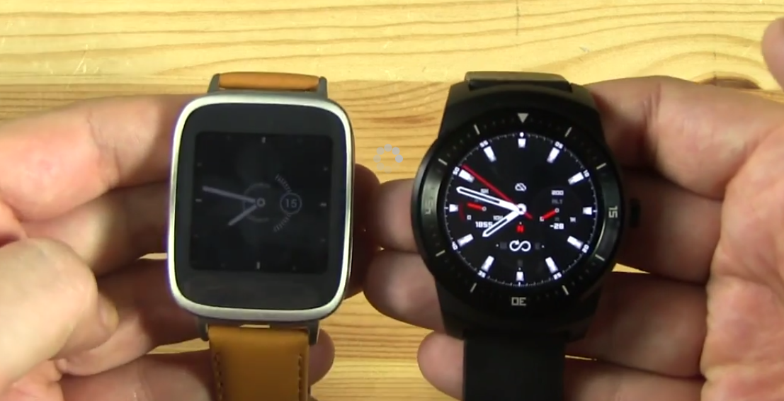 ASUS ZenWatch vs LG G Watch R