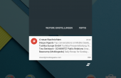 Android 5.0 Nexus 9 Screenshot 4