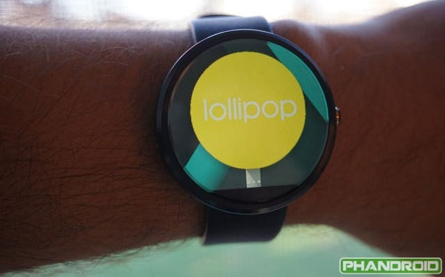 Android Wear 5.0 Lollipop Features
