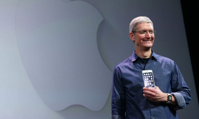 Apple Financial Results Tim Cook iPhone 6