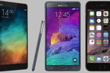 Xiaomi Mi Note Pro vs Samsung Galaxy Note 4 vs Apple iPhone 6 Plus