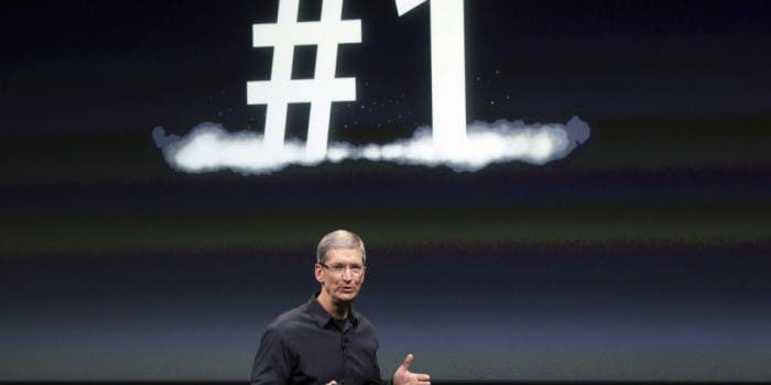 Apple is number one