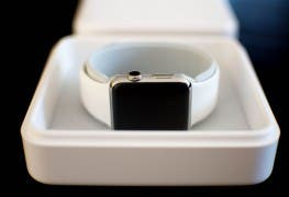 Apple Watch Uhr der Box