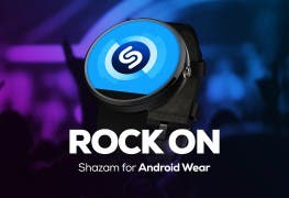 Shazam auf Android Wear-Smartwatch